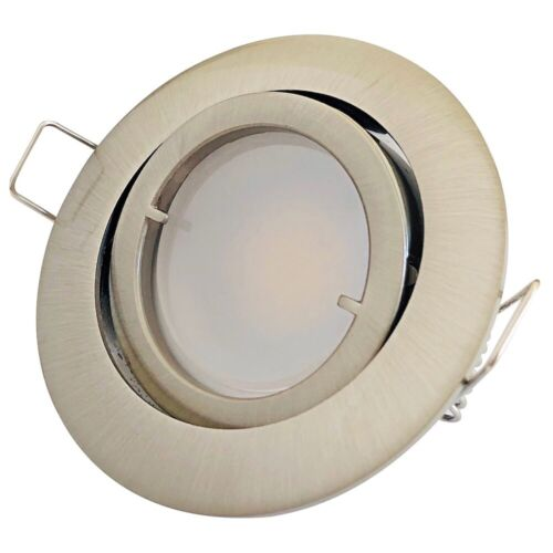 7W schwenkbare Wohnraum LED Decken- Einbauspots Timo 230V 520Lumen dimmbar