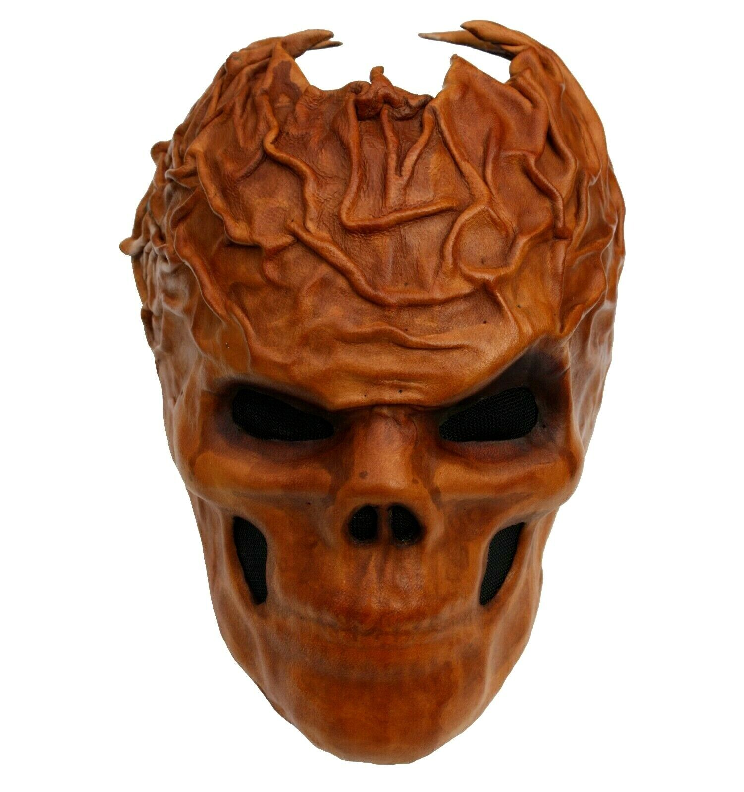 Wearable Leather Mask Skull Steampunk Gothic Metal Bands Theatre Handmade