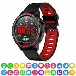 L8 Smart Sports Watch ECG PPG Blood Pressure Heart Rate IP68 Bluetooth Watch