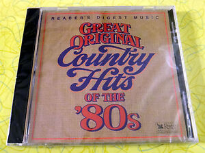 Details about Reader's Digest: Great Original Country Hits of the 80s ~ New  Music CD ~ Rare