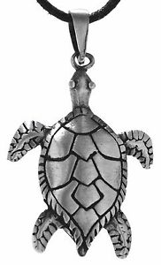 No-118-Tortoises-Pendants-Pewter-Path-Turtle-Water-Sea-Ocean-Turtle
