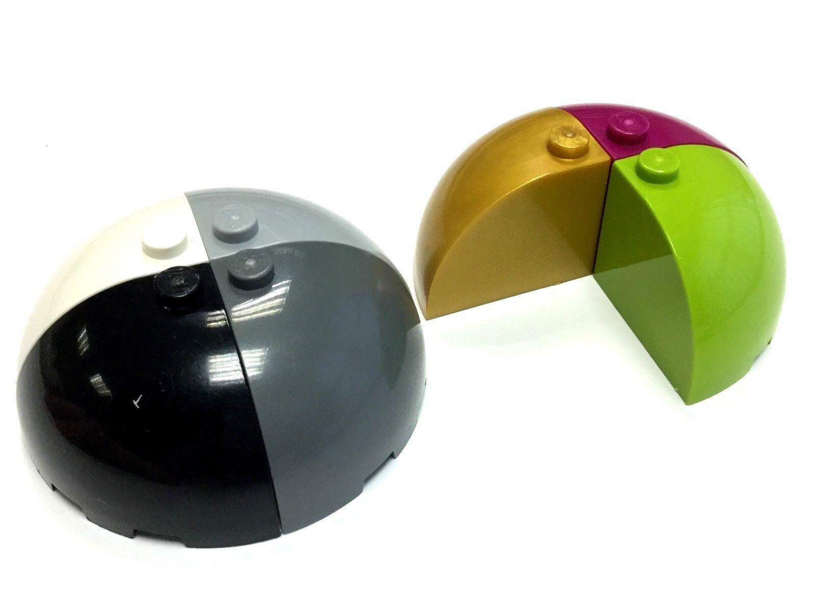 Lego ® brick round corner brick corner curved quarter choose color ref 88293 new