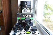 NEW! KIEV-60 TTL USSR camera medium format(6x6) with lens MC VOLNA-3 S/N 9000438