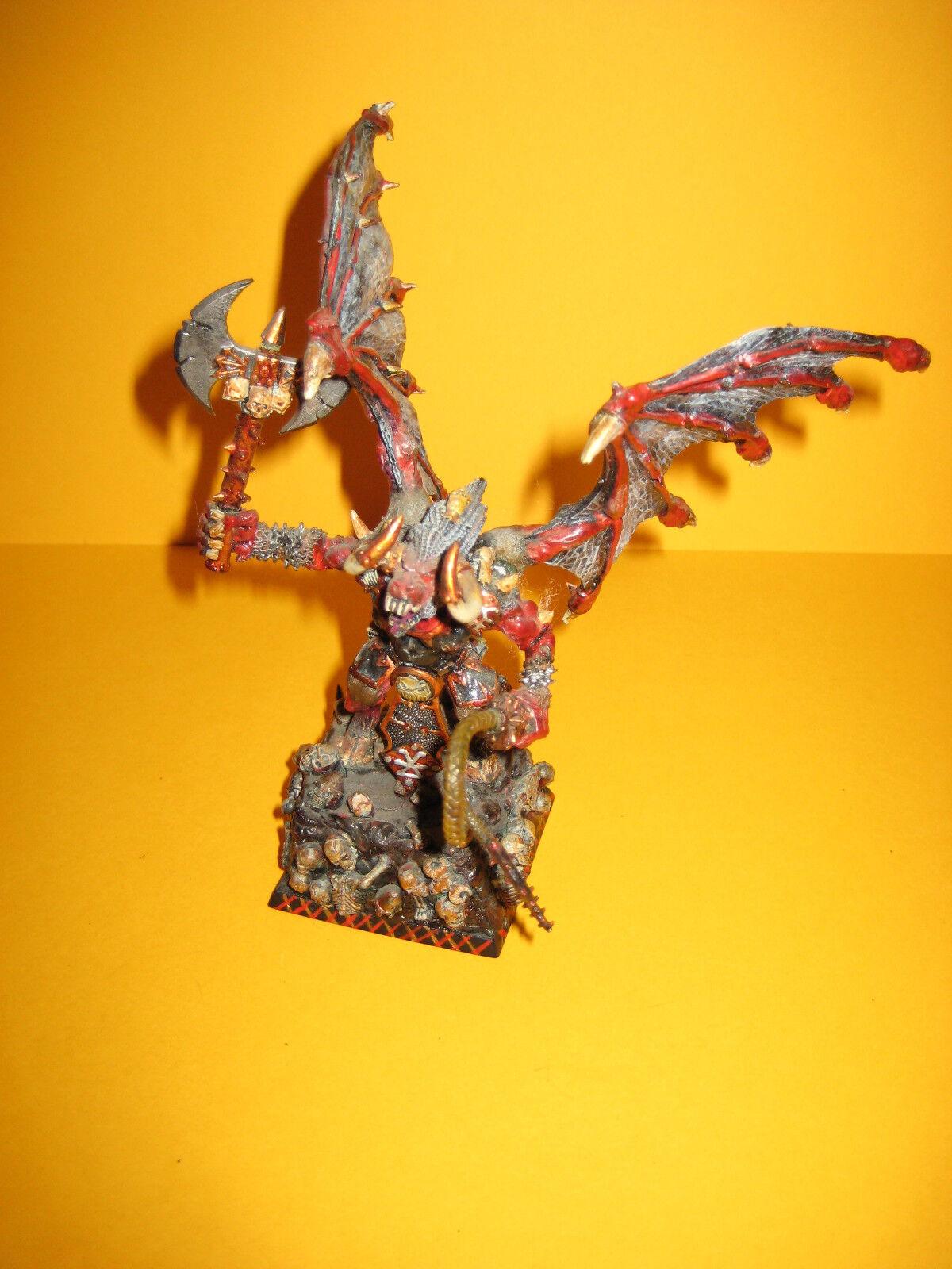 Daemon of Khorne-Greater Daemon-Bloodthirster-sangue demone