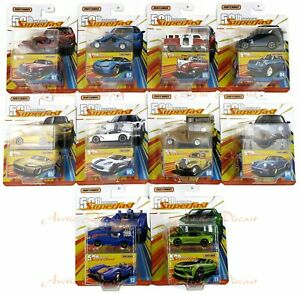 2019-Matchbox-Superfast-50th-Anniversary-Pick-Your-Vehicles-New-Cars-Added-10-18
