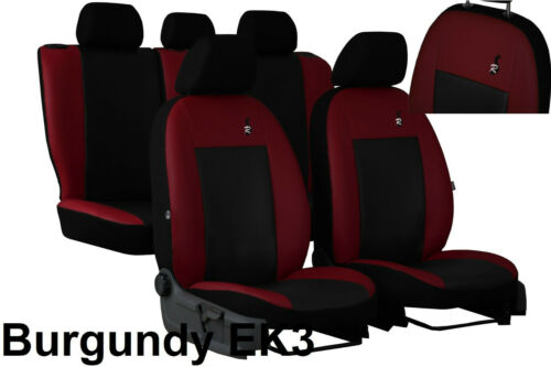Universal Artificial Leather Full Set Seat Covers fits VAUXHALL ASTRA G H 98-09
