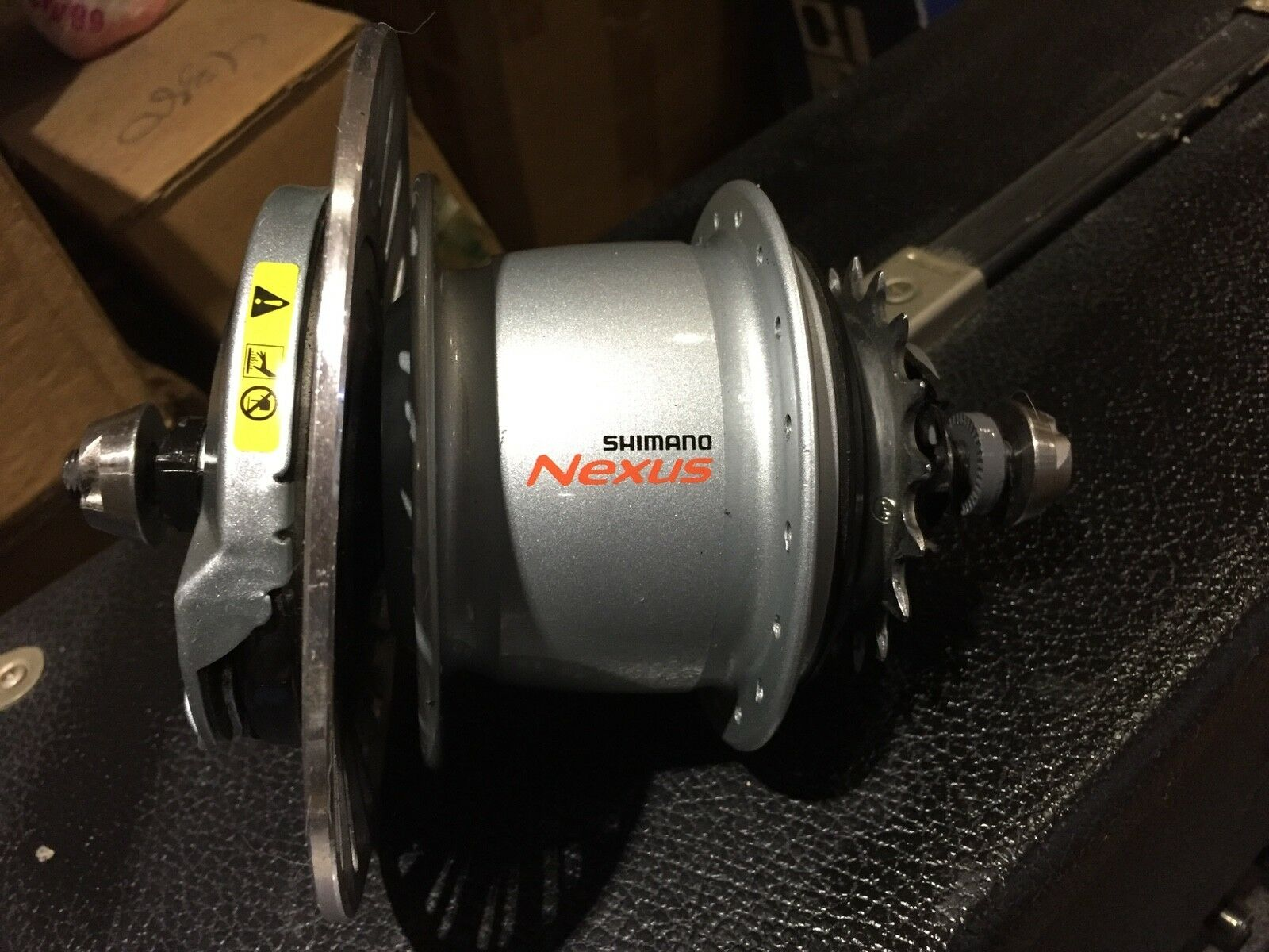 SHIMANO NEXUS SG-C6001 8R INTERNAL  8 SPEED HUB WITH ROLLER BRAKE AND SHIFTER NEW  all products get up to 34% off