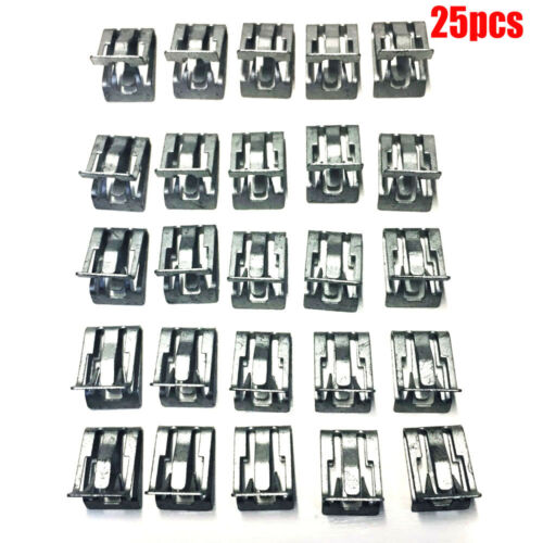 """25 PCS FOR 1994-2017 Interior Trim Clips GM 15748479 1//2/"""" X 5//8/"""" Free Shipping"""