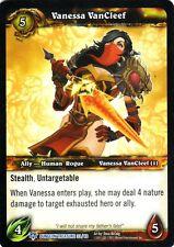 WOW TCG Vanessa VanCleef Dungeon Treasure 33/60 - WORLD OF WARCRAFT ENG MINT