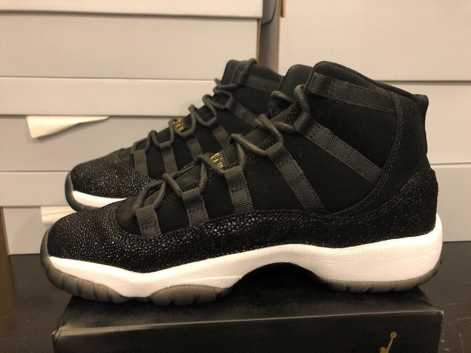 19bbe25fec3 Nike Air Jordan 11 Retro Premium HC Heiress Stingray 852625-030 Sz ...