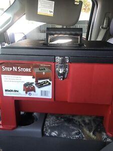 Step N Store Step Stool Tool Box
