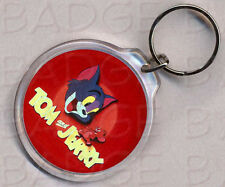 TOM AND JERRY KEYRING - RETRO COOL!
