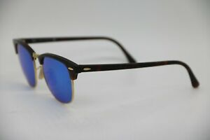 Ray-Ban-RB-3016-Clubmaster-1145-17-Sunglasses-51-21-145-3N-without-Box-Case