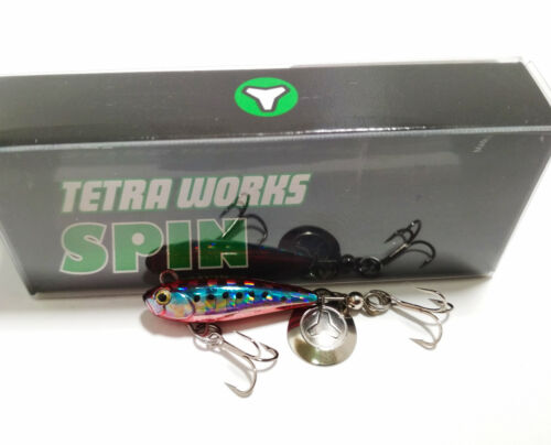 Duo Tetra Funktioniert Spin 2.8mm 5gr Farbe CHA0335 Rot Sardine
