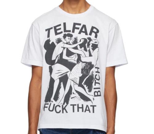 Telfar Logo Graphic T-Shirt SMALL