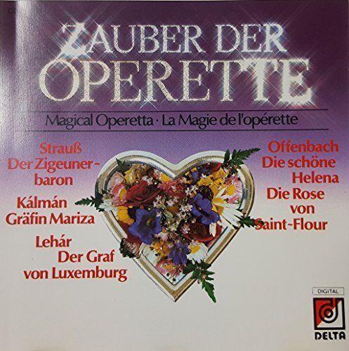 Zauber der Operette (1986, Delta) | CD | Strauss, Lehar, Offenbach, Kálmán RT...