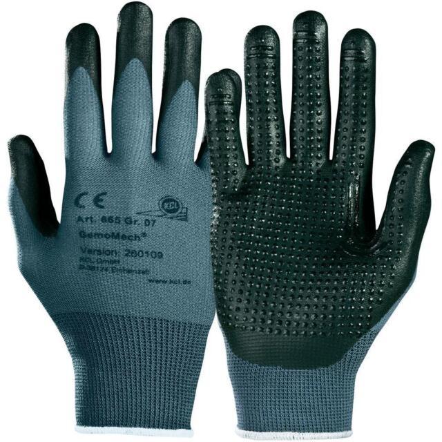 Funsport Bekleidung & Schutzausrüstung KCL Montagehandschuh Gemo Mech 665 Gr.7