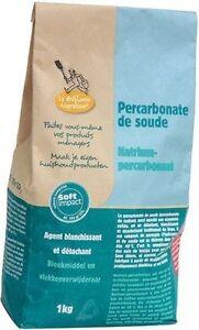 Percarbonate de soude blanchissant sac 1kg (lot de 2 sacs soit 2kg)