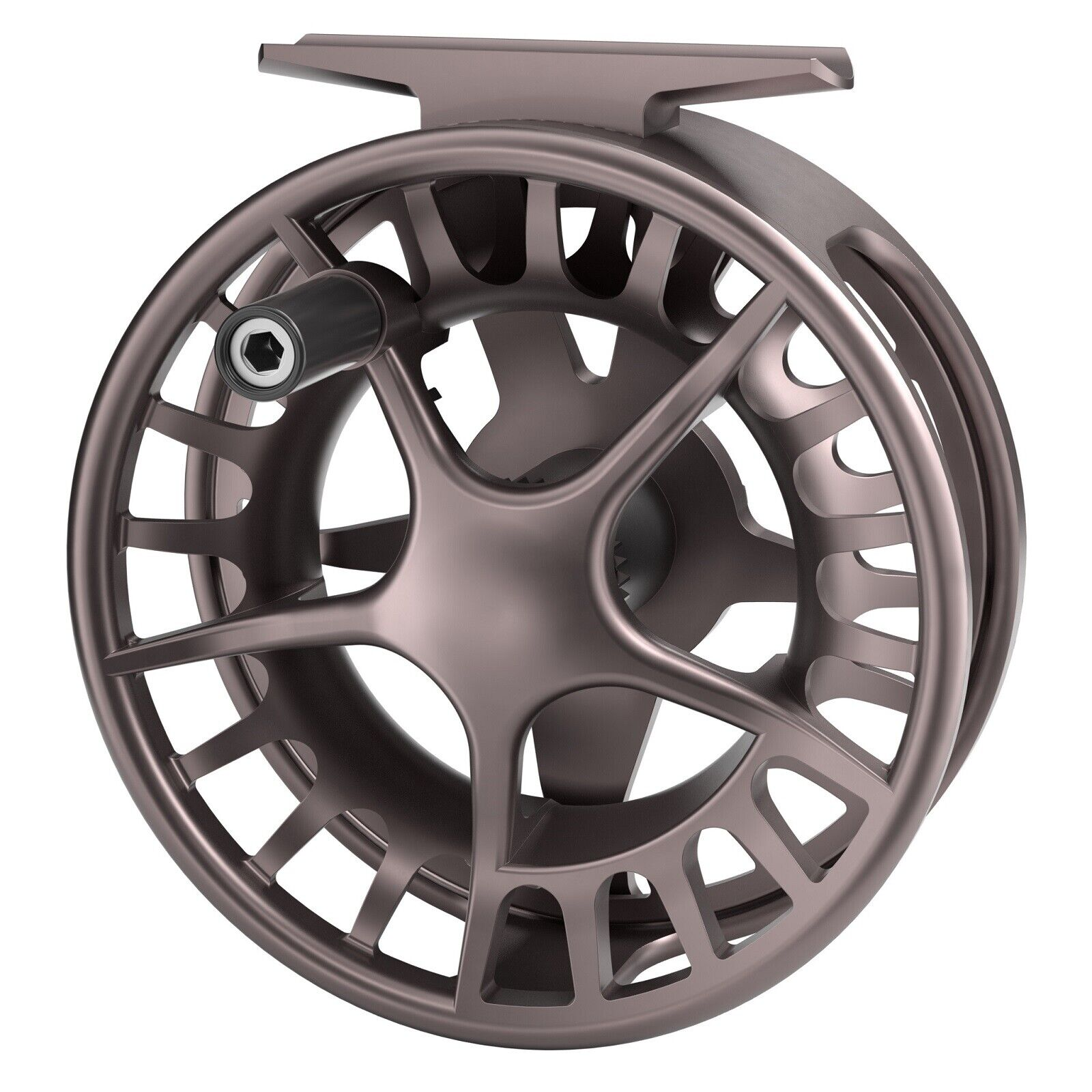 Lamson Remix 9+ Fly Reel - Farbe Smoke - NEW