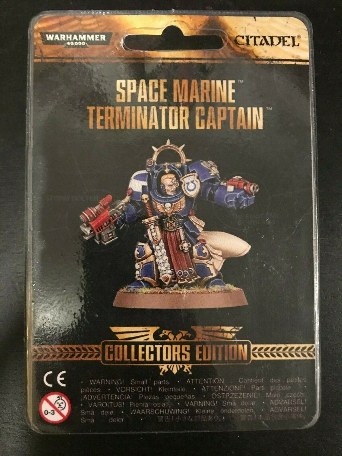 Space Marine Terminator Captain Collector's Edition Model 40k Exclusive BNIB