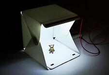 Mini photo studio lighting cube soft box tent photography backdrop kit