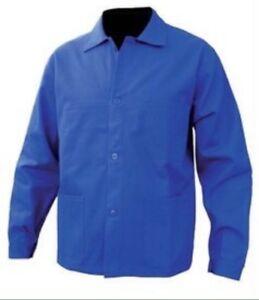 90cm De 82 Bleu Workwear Cotton 100 Jacket Blue Size French Chest Travail wFxIaqPwT