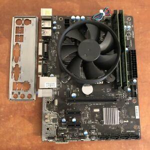 MSI-H81M-PRO-VD-LGA1150-Placa-Madre-i3-4370-3-80GHz-8GB-Ram-paquete-Combo