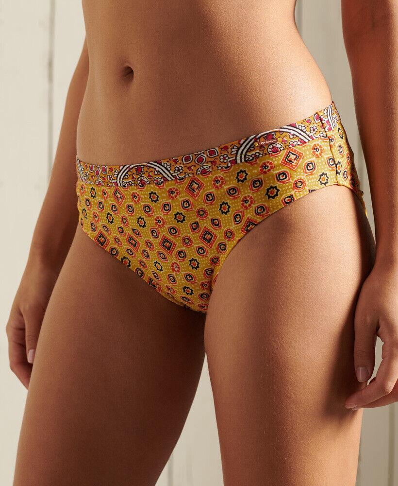 Superdry Damen Boho Hipster Bikinihöschen