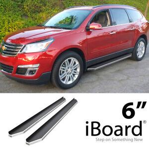 "Premium 6/"" iBoard Side Steps Fit 09-17 Chevrolet Traverse GMC Acadia"