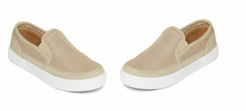 BOYS Arizona Matt Mesh NATURAL Slip on Shoes MSRP$35 MULTIPLE SIZES NEW IN BOX