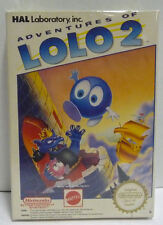 ADVENTURES OF LOLO 2 - MATTEL ITA NINTENDO NES PAL A VERSION BOXED RARE