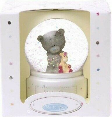 OTHER ME TO YOU BEAR TINY TATTY TEDDY LITTLE ONE BABY WATER GLOBE GIFT *NEW