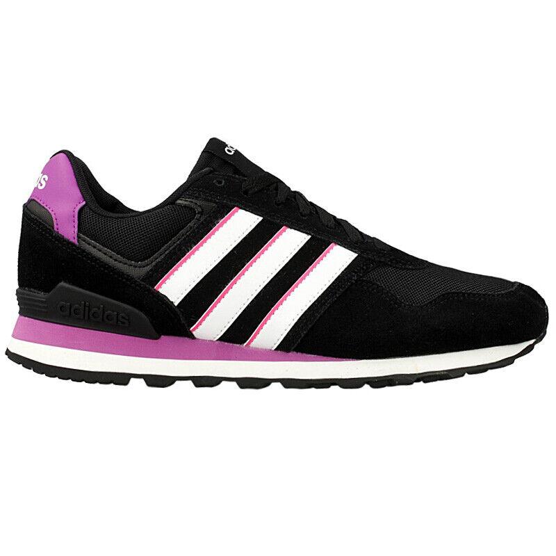 Adidas 10K W Zapatillas Deportivas de Mujer AW4932 Zapatos Negro Zx Ocio 750