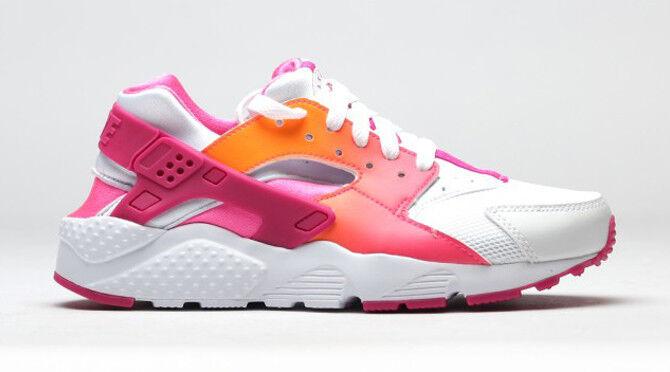 Nike huarache gs run gs huarache nuevo señora niñera cortos gr 38 blanco rosadodo 90 97 951dfb