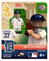 Max Scherzer Mlb Detroit Tigers Oyo Mini Figure G3