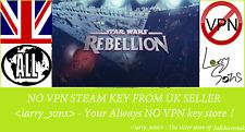 Star Wars Rebellion  Steam key NO VPN Region Free UK Seller