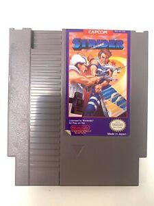 Strider ORIGINAL NINTENDO NES GAME CARTRIDGE Tested WORKING Authentic!