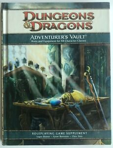 DUNGEONS & DRAGONS 4th Ed 2008 ADVENTURER'S VAULT HARDCOVER Arms & Equipment