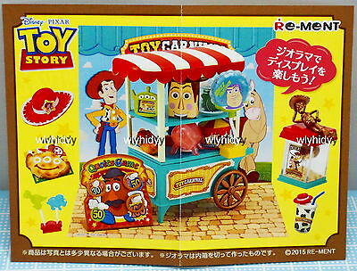 Miniatures Disney Toy Story Toy Carnival complete  box set  - Re-ment     h#1