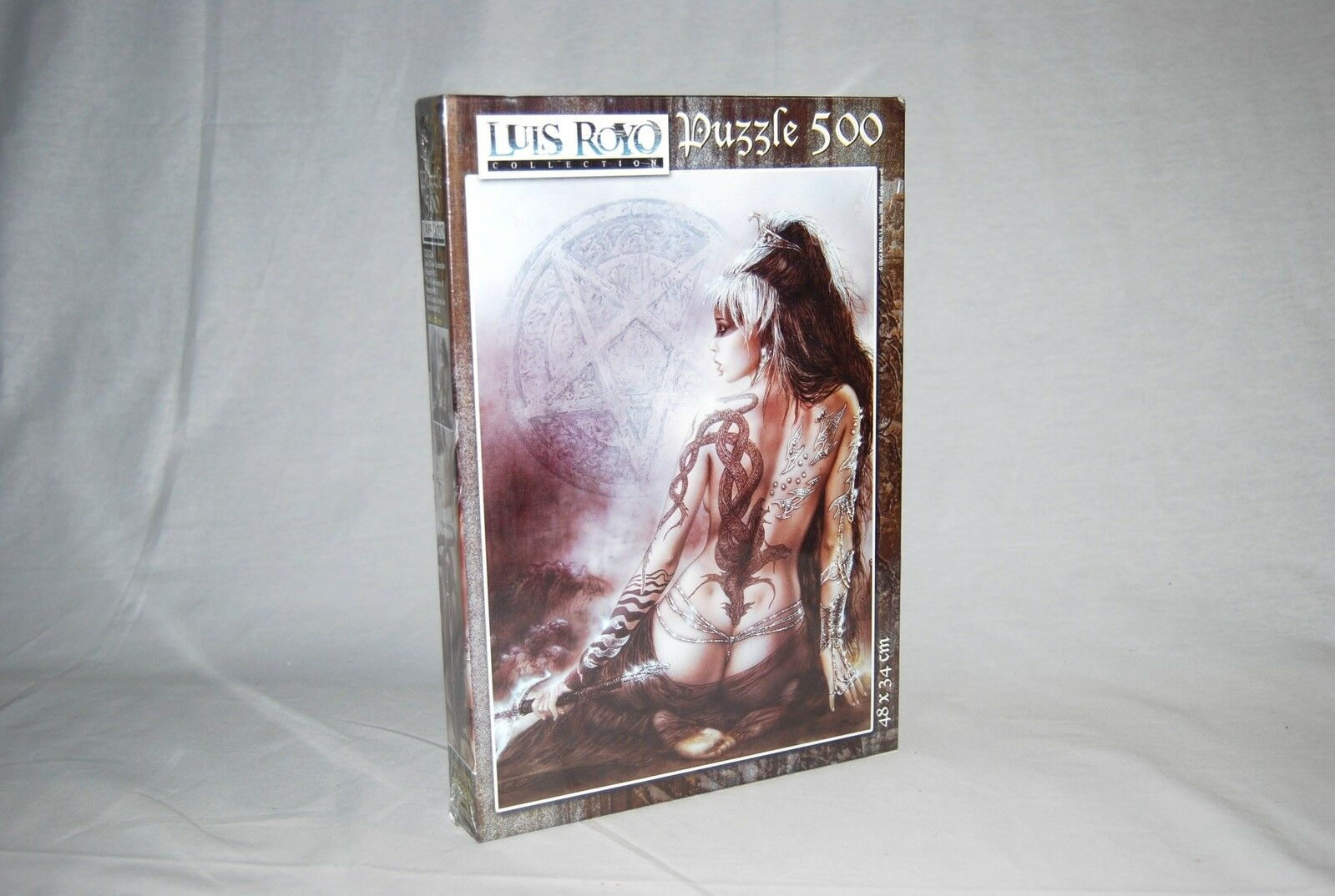 Puzzle Educa Luis Royo FIVE FACES OF OF OF HECATE Spanish 500 pcs SEALED RARE 509796