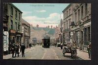 Rotherham - College Street - colour printed postcard