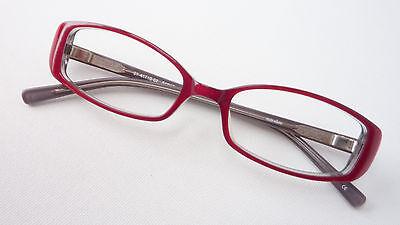Sonderabschnitt Fassung Frauen Brille Rot Kunststoff Gestell Flexbügel Schmale Glasform Size M FöRderung Der Produktion Von KöRperflüSsigkeit Und Speichel Brillenfassungen