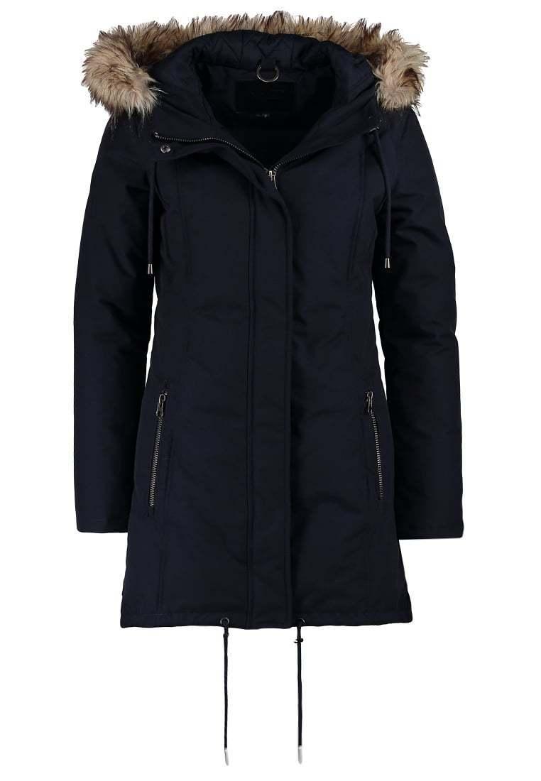 MbyM señora talla XL  parka señora chaqueta plumifero fell capucha Navy azul d509  bienvenido a elegir