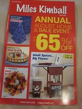 MILES KIMBALL AUTUMN 2015 CATALOG AUGUST HOME AND SALE EVENT BRAND NEW