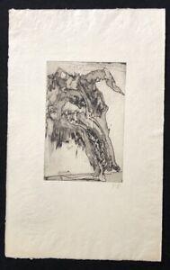 Horst-Janssen-Knochen-eines-Vereinsmitglieds-Radierung-1973-handsigniert