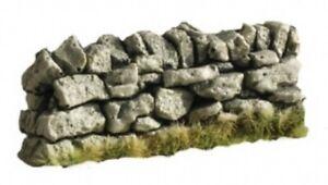 Diorama-Zubehor-Stein-Mauer-Masstab-1-32-Straight-Stone-Wall-C08B