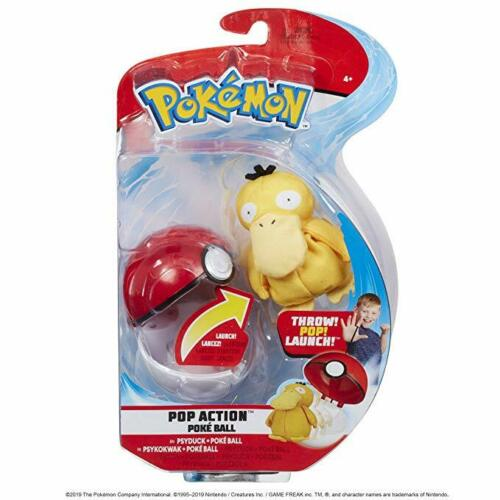 Pokemon Pop action Pokeball Wave 2-PSYDUCK-Neuf