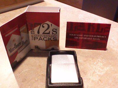 Marlboro New 72s Anniversary Packs Launch Pos Items Introduction W Lighter Ebay