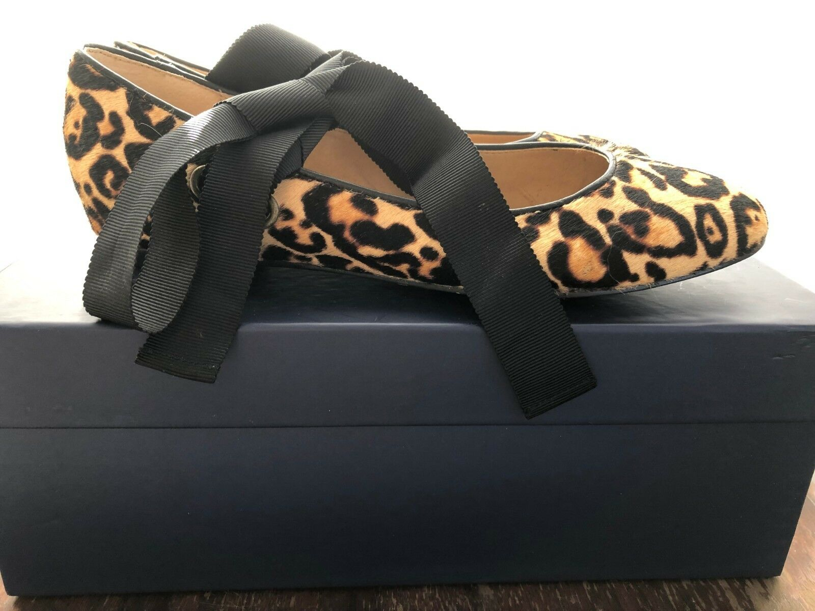Splendid Women's Leopard Ballet Flats Size 7 (91594), with box box box dd329c