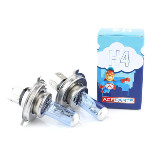 55w Ultra Bright Tint Xenon HID Upgrade 2x H4 Front High//Low Dip Beam Bulbs